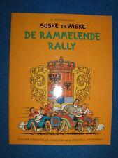 Suske en Wiske de Rammelende Rally met oranje omslag 1973