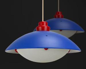 Vintage 1980's IKEA Smyg Maria Vinka ceiling lamp - Memphis style