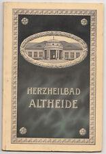 Broschüre Herzheilbad Altheide Polanica-Zdrój Schlesien 1913 ! (H4