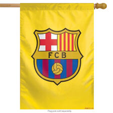 "FCB Barcelona Vertical Flag Soccer Officially Licensed 27"" x 37"""