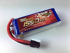 FPV Racing Graphene 1550mAh 14.8V 75C 250 Size Drone Quadcopter LiPo Battery