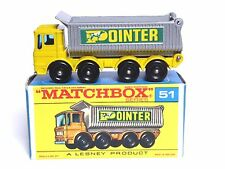 Matchbox Lesney No.51c AEC Mammoth 8 Wheel Tipper Type F2 Box (GOOD CONDITION!)