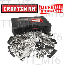 Craftsman 230 Piece Silver Finish Standard Metric Mechanics Tool Set 230 Pc 165