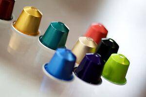 New Original NESPRESSO Capsules Pods All Flavors Kosher. 7 Sleeves Min
