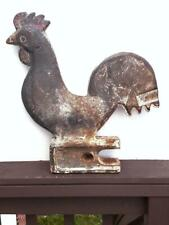 Rare Cast Iron Antique Largest Size 19In Woodmance Rooster Windmill Weight Rare!