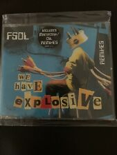 Future Sound Of London – We Have Explosive 4 track CD single – VSCDT 1616 – Ex