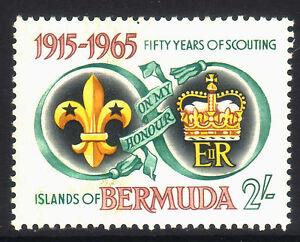 BERMUDA 50 Years of Scouting 1965 MNH. • FREE POST •