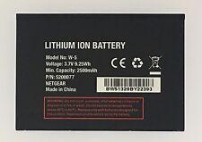 Replacement Battery Netgear AirCard 770S AT&T Unite AirCard 771S W-5 W5 2500mAh