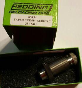 85434 REDDING 357 SIG TAPER CRIMP DIE - BRAND NEW - FREE SHIP