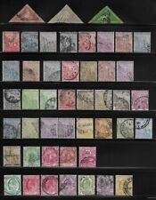 Collection of Old Stamps - Cape of Good Hope