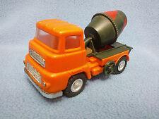 Vintage correcto Juguetes (Hong Kong) 3747 Plástico Fricción Drive Albion cemento camión.
