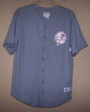 Boy's XL 6831 Gray NEW YORK YANKEES Baseball Jersey Shirt MLB #22 MARK TEIXEIRA