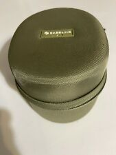 Case For Hearing Protection / Ear Muffs. Zippered, Green