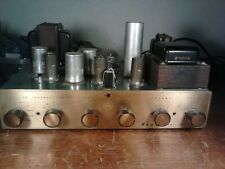 New listing Rare Bogen Db-20 Df tube amp amplifier w/ damping factor for rebuild/parts