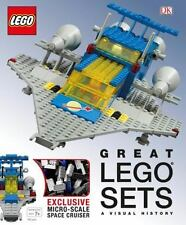 Great LEGO Sets: a Visual History by Daniel Lipkowitz and Dorling Kindersley d1