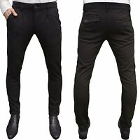 Arrested Development Mens Designer Branded Skinny Stretch Tapered Fit Trousers