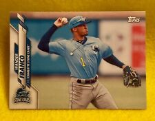 2020 Topps Pro Debut WANDER FRANCO PD-1 Tampa Bay Rays