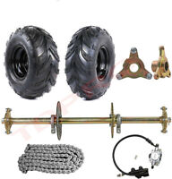 810mm ATV Quad Bike Drift Trike Go Kart Rear Axle Kit , 145/70-6 Tyres Wheels