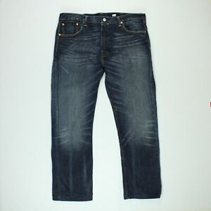 LEVIS Mens 501 Original Denim Jeans Straight Leg Blue Size W38 L30