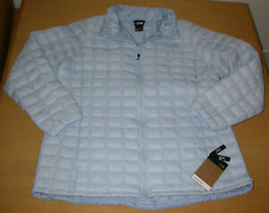 NWT The North Face Womens Plus Thermoball Eco Jacket Angel Falls Blue Sz 1X
