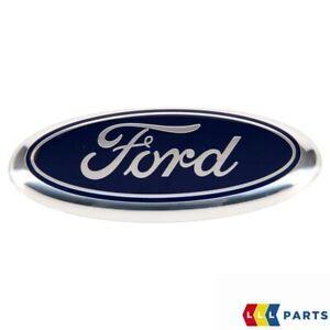 Neuf Véritable Ford Fiesta Ka avant Centre Grille Ovale Badge Emblème 1078445