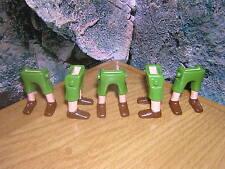 ( A 13 / 15 ) 5 x Jambes pantalon court vert Garde Soldats ACW Pirates Western