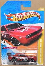HOT WHEELS 2011 NEW MODELS DODGE CHALLENGER DRIFT CAR RED