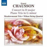 Meadowmount Trio - Chausson: Concerto For Piano, Vln, String Quartet [CD]