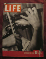 LIFE magazine September 20 1931 Yehudi Menuhin Doris Lee Iowa Farm Antietam