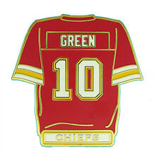 Trent Green #10 Kansas City Chiefs NFL Jersey Pin
