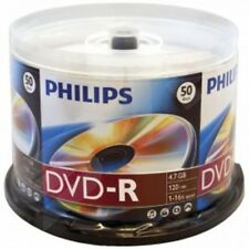 Philips DVD-R 120MIN 16X 4.7GB - 50 Pack Spindle