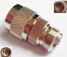 UHF PL259 Male Plug to N Female Jack Straight RF Connector Adapter
