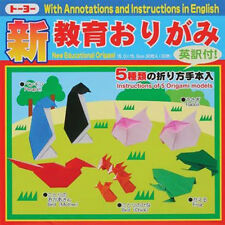 """Japanese Educational Origami Folding Paper 6"""" (15cm) Assorted Colors 30 Sheets"""