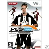 PES 2008 - Pro Evolution Soccer Nintendo Game Wii Games