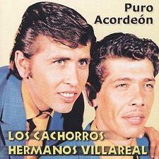 FREE US SHIP. on ANY 2 CDs! NEW CD Cachorros Hermanos Villareal: Puro Acordeon