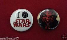 SDCC Comic Con 2012 Star Wars Darth Maul  I DARK HORSE STAR WARS Pin-back Button