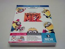 Despicable Me 2 DIGIBOOK (Blu-ray, USA, Target Exclusive) ***SEALED*** SOLD OUT!