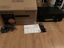 onkyo tx nr636 Surround Receiver schwarz