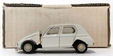 Duvi Models 1/43 Scale Resin 002 - Citroen Dyane - White