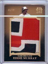 Eddie Murray 2011 Topps Tier One Sick Jumbo Logo Patch Orioles #17 06/10