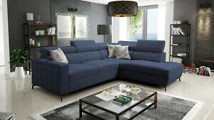 Brand New Corner Sofa Bed With Storage Baltico III Mini