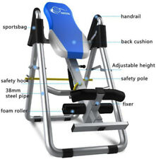 PRO Gravity Inversion Table pieghevole sul retro del collo dolore Esercizio TERAPIA Bench
