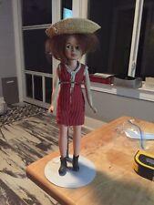 "Vintage Girls Doll 12"" Tall"