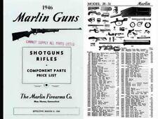 Marlin 1946 Rifles and Shotguns - Component Parts Catalog