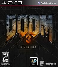 Doom 3 BFG Edition [PlayStation 3 PS3, Includes Doom & Doom II, FPS] NEW