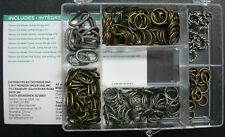 228pc Unique Jump Ring Finding Value Pack Antique Silver Antique Bronze AS003