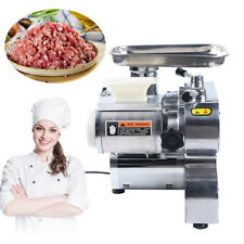 1100w Commercial Electric Meat Grinder Stainless Steel Sausage Stuffer 250kgh