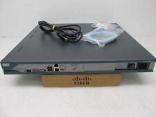 Cisco 2811 Router IOS 15.1(3)T4 CME 8.5 CCENT CCNA CCVP CCIE CCSP LAB 768D/256F