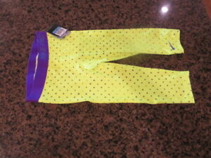 Nike Pro Girls Dri Fit Capri fitted base layer Competition train NWT 677618 Med
