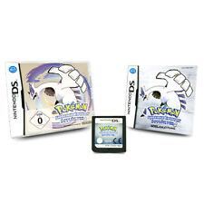 Nintendo DS Spiel Pokemon Silberne Edition Soulsilver in OVP mit Anleitung